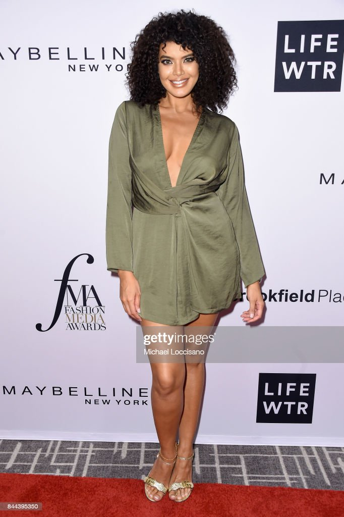 Model Saffi Karina attends the Daily Front Row's Fashion Media Awards at Four Seasons Hotel New York Downtown on September 8, 2017 in New York City.