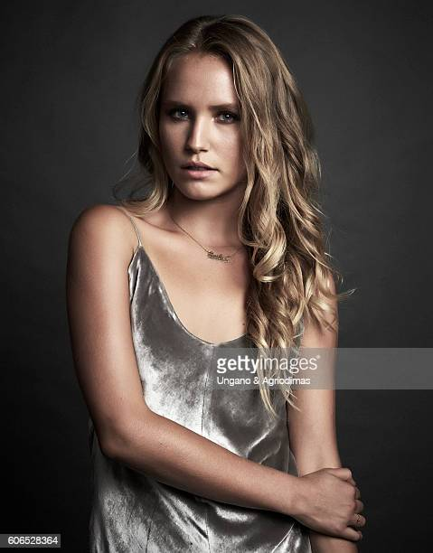 Model Sailor Brinkley Cook poses for a portrait at The Daily Front Row's 4th Annual Fashion Media Awards at Park Hyatt New York on September 8 2016...