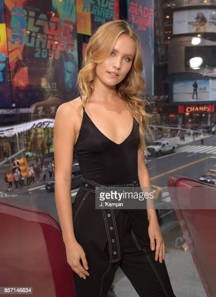 Model Sailor Brinkley visits 'Extra' at HM Times Square on October 3 2017 in New York City