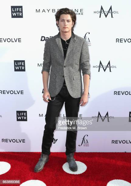 Model Sam Evans attends the Daily Front Row's 3rd Annual Fashion Los Angeles Awards at Sunset Tower Hotel on April 2 2017 in West Hollywood California