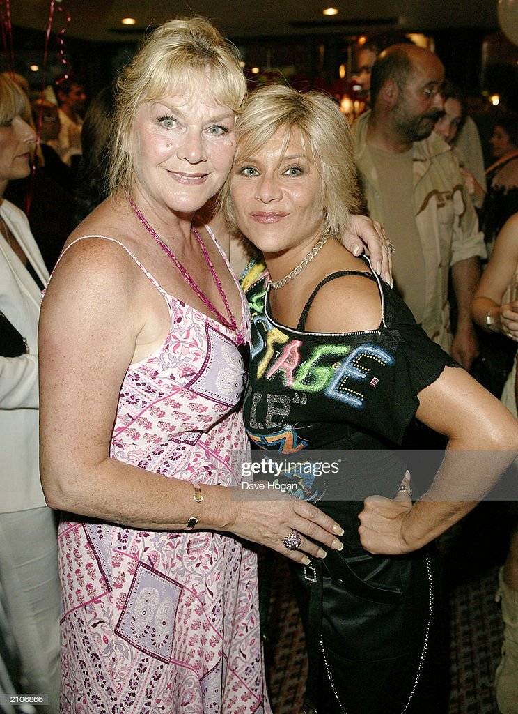 Model Sam Fox and her mother Carol attend the party for the 30th anniversary performance of 'The Rocky Horror Picture Show' on June 23, 2003 at Queens Theatre, London, England.