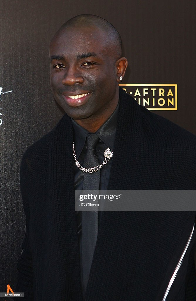Model <a gi-track='captionPersonalityLinkClicked' href=/galleries/search?phrase=Sam+Sarpong&family=editorial&specificpeople=643843 ng-click='$event.stopPropagation()'>Sam Sarpong</a> attends The 6th Annual Diamond In The RAW-Action Icon Awards at Skirball Cultural Center on November 10, 2013 in Los Angeles, California.