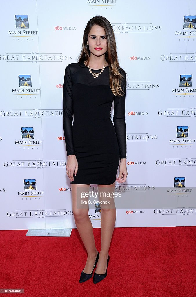 Model Sandrina Bencomo attends the New York premiere of 'Charles Dickens' Great Expectations' at AMC Loews Lincoln Square 13 theater on November 5, 2013 in New York City.
