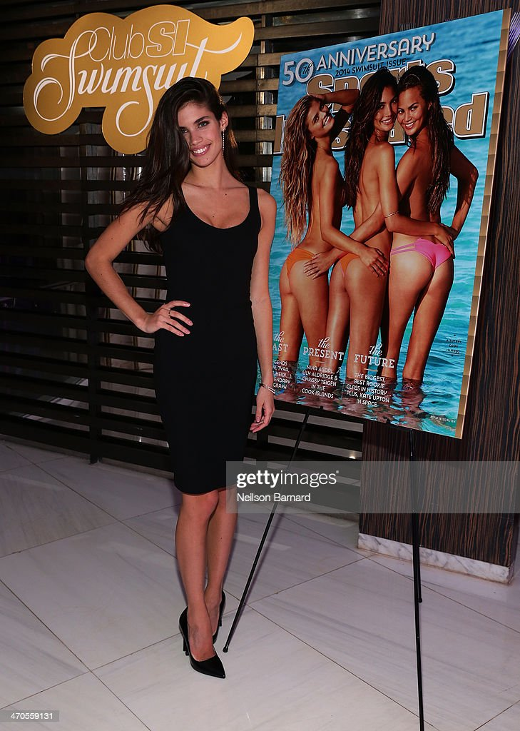 Model <a gi-track='captionPersonalityLinkClicked' href=/galleries/search?phrase=Sara+Sampaio&family=editorial&specificpeople=8530560 ng-click='$event.stopPropagation()'>Sara Sampaio</a> attends Club SI Swimsuit hosted by Sports Illustrated at LIV Nightclub at Fontainebleau Miami Beach on February 19, 2014 in Miami Beach, Florida.