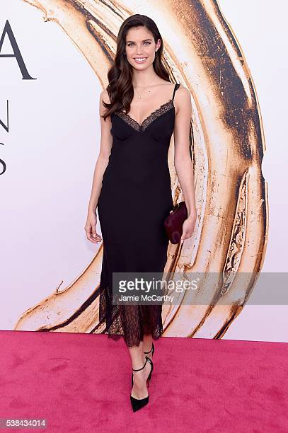 Model Sara Sampaio attends the 2016 CFDA Fashion Awards at the Hammerstein Ballroom on June 6 2016 in New York City