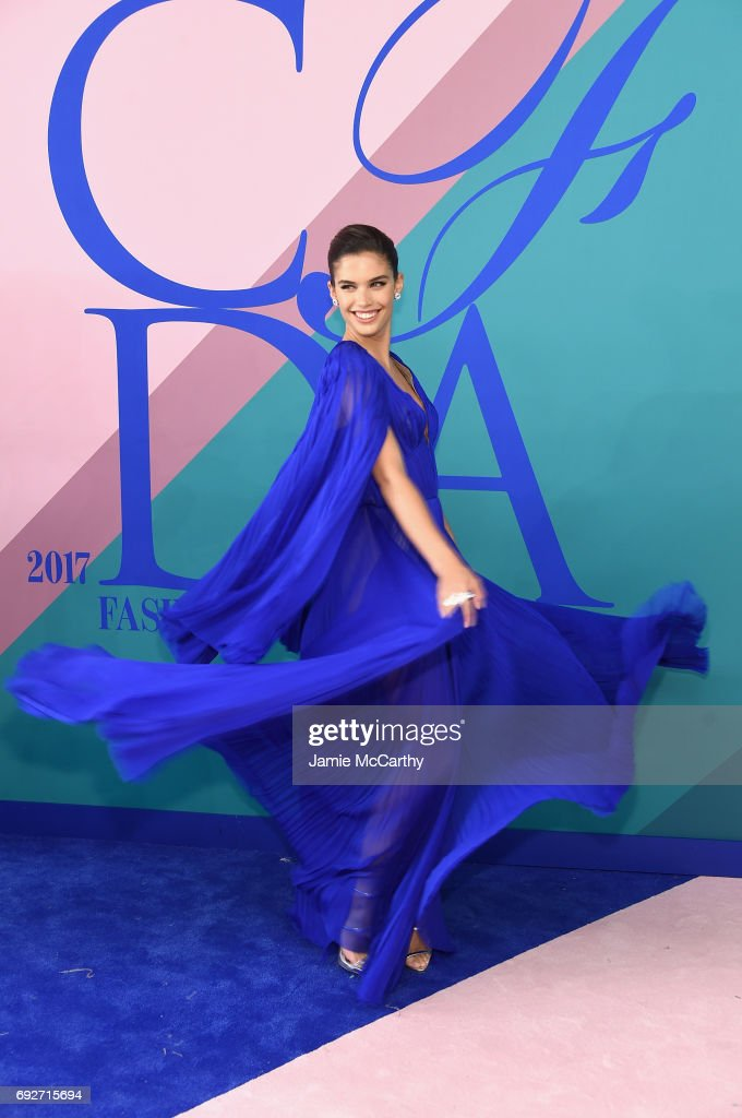 Model Sara Sampaio attends the 2017 CFDA Fashion Awards at Hammerstein Ballroom on June 5, 2017 in New York City.