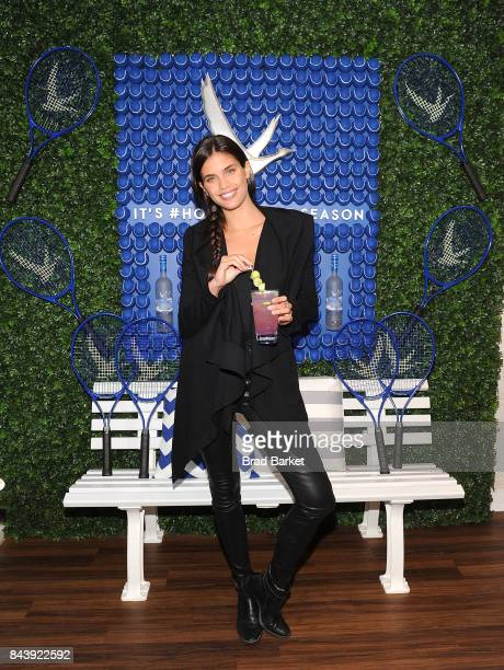 Model Sara Sampaio attends the Grey Goose Toasts #HoneyDeuce Season at The 2017 US Open at USTA Billie Jean King National Tennis Center on September...