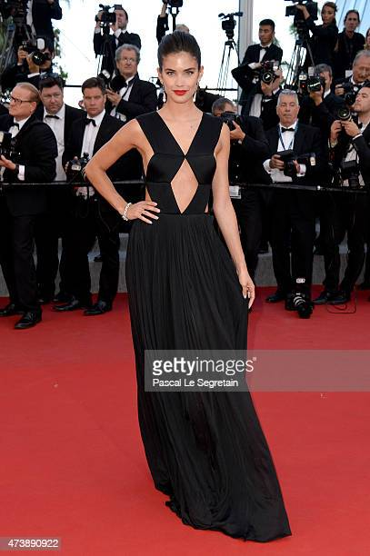 Model Sara Sampaio attends the Premiere of 'Inside Out' during the 68th annual Cannes Film Festival on May 18 2015 in Cannes France