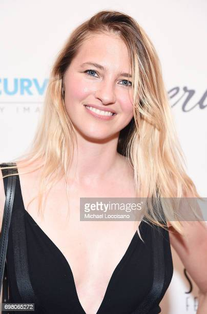 Model Sara Ziff attends the 'Straight/Curve' New York premiere at the Whitby Hotel on June 19 2017 in New York City