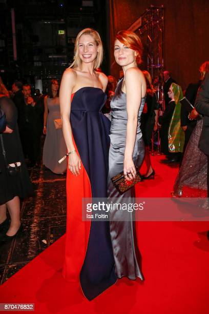 Model Sarah Brandner and influencer Masha Sedgwick attend the aftershow party during during the 24th Opera Gala at Deutsche Oper Berlin on November 4...