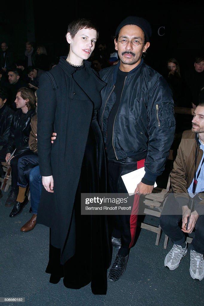 Lanvin : Front Row - Paris Fashion Week - Menswear F/W 2016-2017