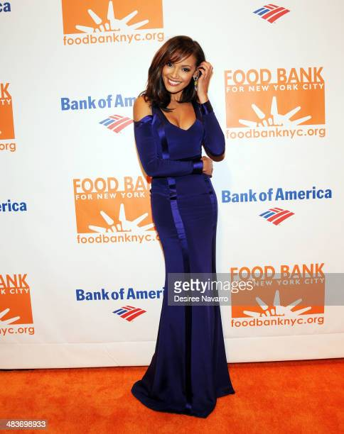 Model Selita Banks attends the 2014 Food Bank Of New York City Can Do Awards at Cipriani Wall Street on April 9 2014 in New York City