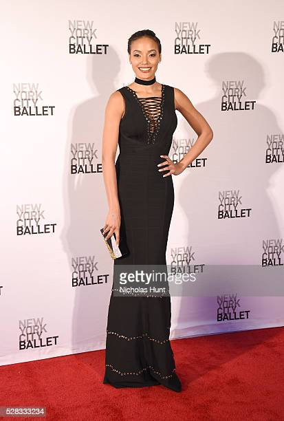 Model Selita Ebanks attends New York City Ballet's Spring Gala at David H Koch Theater at Lincoln Center on May 4 2016 in New York City