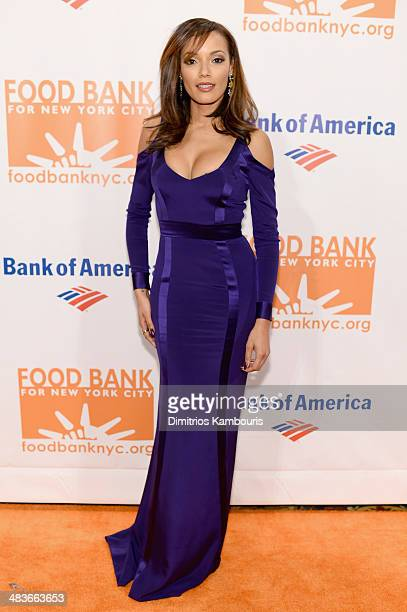 Model Selita Ebanks attends the Food Bank for New York City's Can Do Awards dinner gala on April 9 2014 in New York City