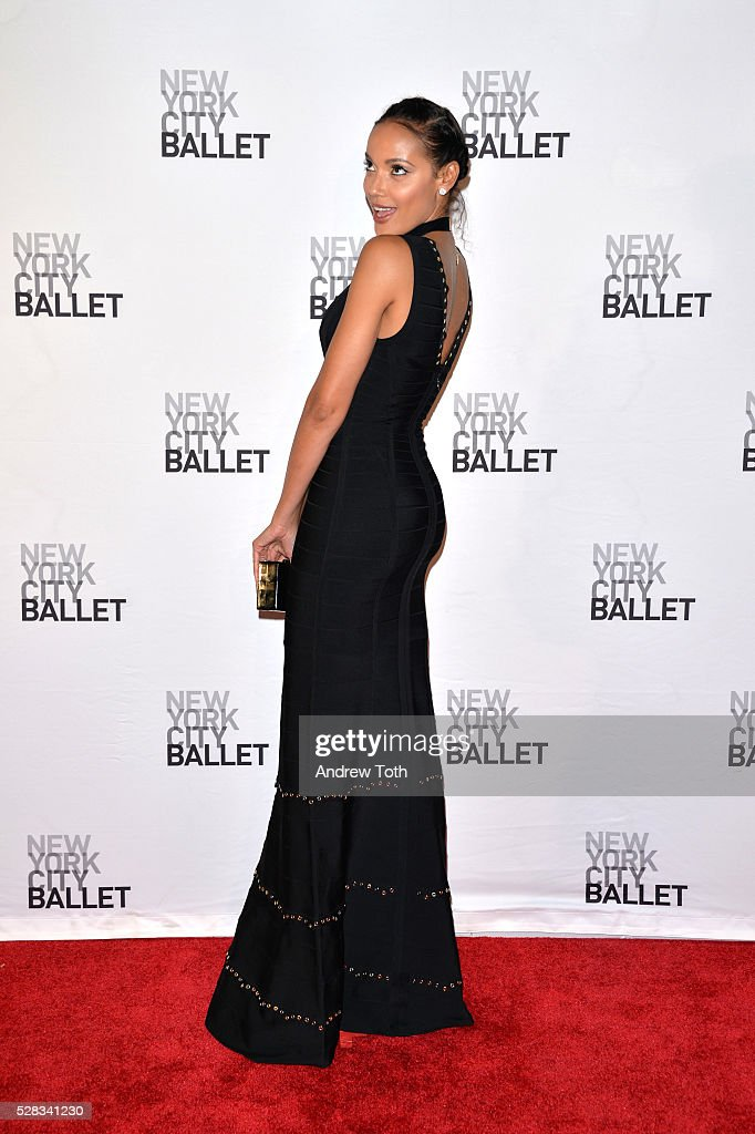 Model <a gi-track='captionPersonalityLinkClicked' href=/galleries/search?phrase=Selita+Ebanks&family=editorial&specificpeople=619483 ng-click='$event.stopPropagation()'>Selita Ebanks</a> attends the New York City Ballet's Spring Gala on May 04, 2016 in New York, New York.