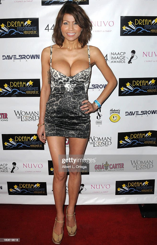 Model Selma Teer arrives for the NAACP Image Awards Nomination Party featuring 'Woman Thou Art Loosed On THe 7th Day' for Best Independent Motion Picture held at Smoke on January 26, 2013 in West Hollywood, California.