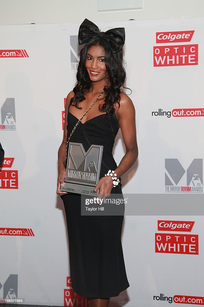 Model Sessilee Lopez attends the 2012 Mirror Mirror Awards at The Union Square Ballroom on December 12, 2012 in New York City.