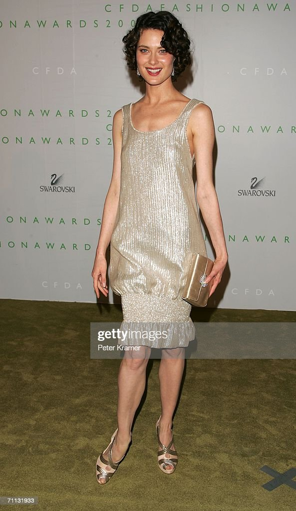 Model Shalom Harlow attends the 2006 CFDA Awards at the New York Public Library on June 5, 2006 in New York City.