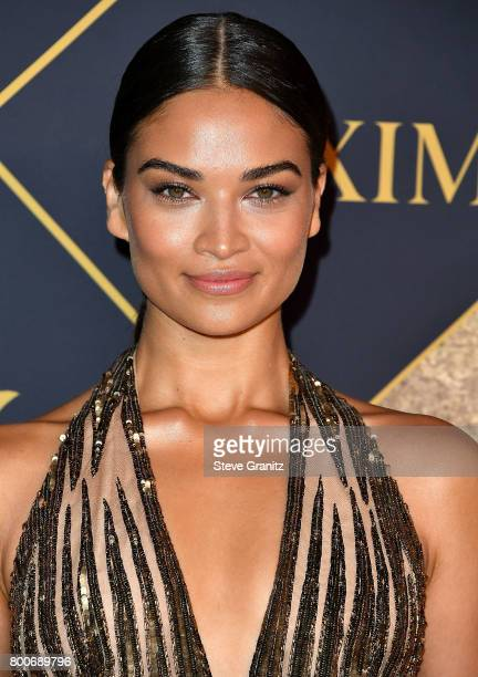 Model Shanina Shaik arrives at the The 2017 MAXIM Hot 100 Party at Hollywood Palladium on June 24 2017 in Los Angeles California