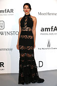 Model Shanina Shaik attends amfAR's 22nd Cinema Against AIDS Gala Presented By Bold Films And Harry Winston at Hotel du CapEdenRoc on May 21 2015 in...