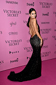 Model Shanina Shaik attends the after party for the annual Victoria's Secret fashion show at Earls Court on December 2 2014 in London England