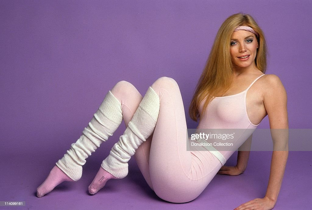 Model Shannon Tweed poses for a portrait in c1985 in Los Angeles California