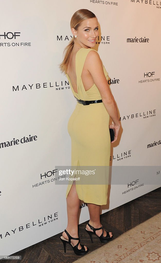 Model <a gi-track='captionPersonalityLinkClicked' href=/galleries/search?phrase=Shantel+VanSanten&family=editorial&specificpeople=4433467 ng-click='$event.stopPropagation()'>Shantel VanSanten</a> arrives at Marie Claire's Fresh Faces Party at Soho House on April 8, 2014 in West Hollywood, California.