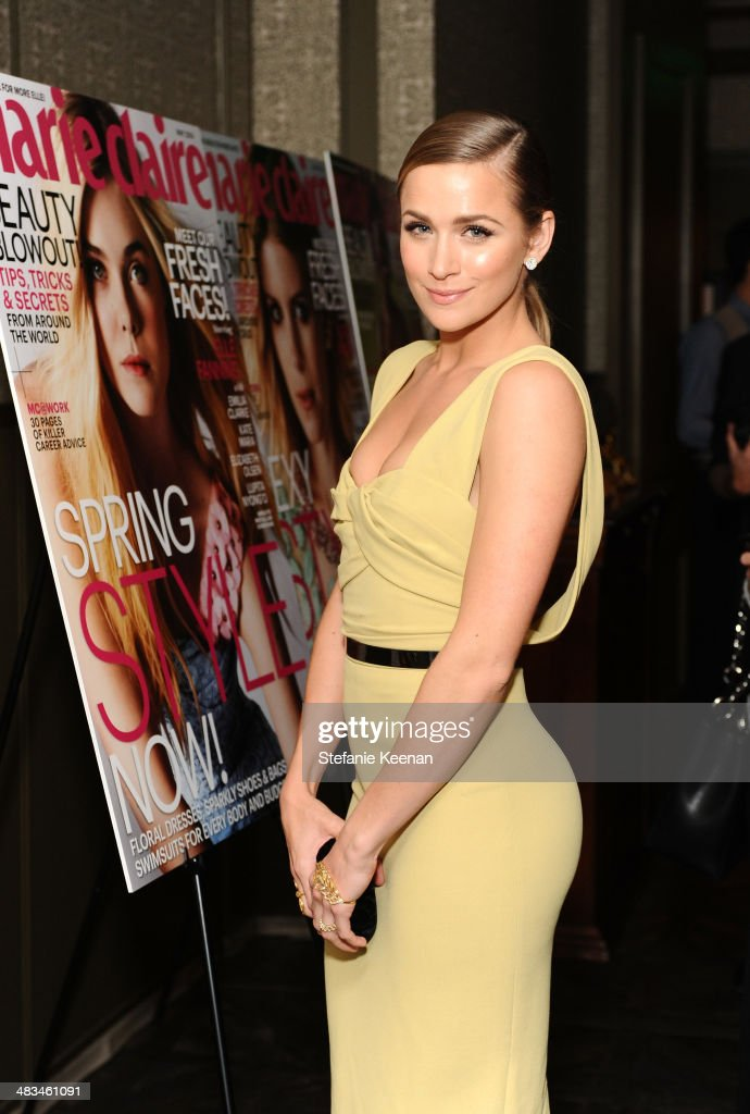 Model <a gi-track='captionPersonalityLinkClicked' href=/galleries/search?phrase=Shantel+VanSanten&family=editorial&specificpeople=4433467 ng-click='$event.stopPropagation()'>Shantel VanSanten</a> attends Marie Claire Celebrates May Cover Stars on April 8, 2014 in West Hollywood, California.