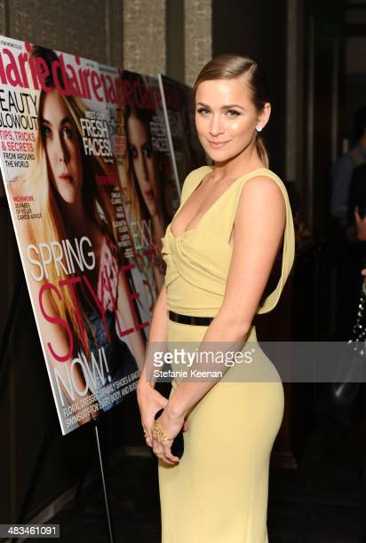 Model Shantel VanSanten attends Marie Claire Celebrates May Cover Stars on April 8 2014 in West Hollywood California