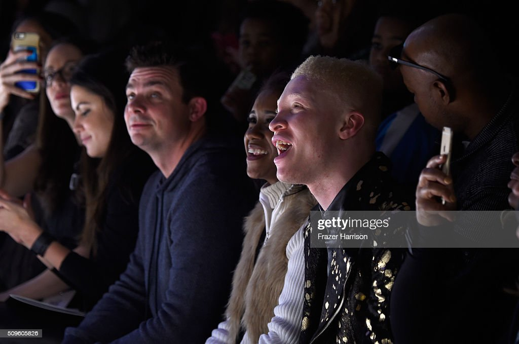 Model <a gi-track='captionPersonalityLinkClicked' href=/galleries/search?phrase=Shaun+Ross&family=editorial&specificpeople=5872254 ng-click='$event.stopPropagation()'>Shaun Ross</a> attends the Rookie USA Presents Kids Rock! Fall 2016 fashion show during New York Fashion Week: The Shows at The Dock, Skylight at Moynihan Station on February 11, 2016 in New York City.