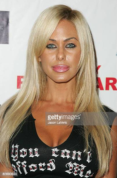 Model Shauna Sand attends producer Jason 'Pooh Bear' Boyd's birthday celebration at Boulevard3 on September 5 2008 in Hollywood California