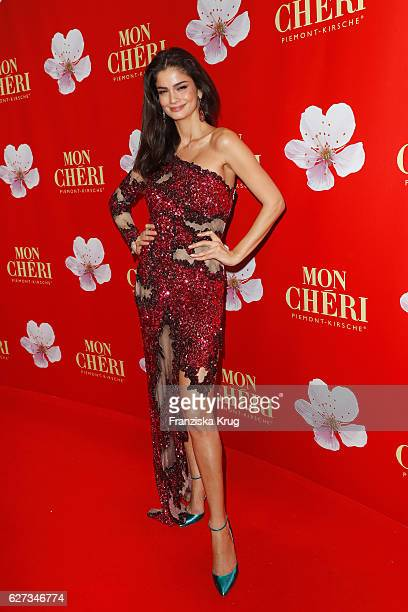 Model Shermine Shahrivar attends the Mon Cheri Barbara Tag at Postpalast on December 2 2016 in Munich Germany