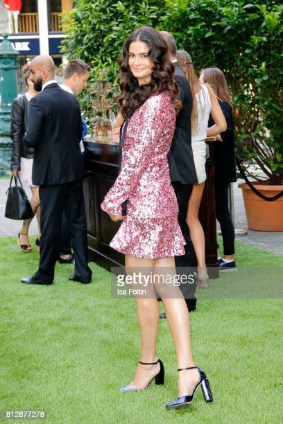 Model Shermine Shahrivar during the 'True Berlin' Hosted By Shan Rahimkhan on July 11 2017 in Berlin Germany
