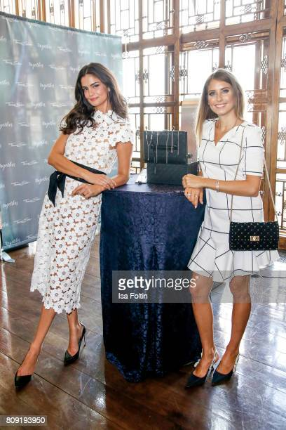 Model Shermine Shahrivar wearing jewelry of Thomas Sabo and model Cathy Hummels wearing jewelry of Thomas Sabo attend the Thomas Sabo Press Cocktail...
