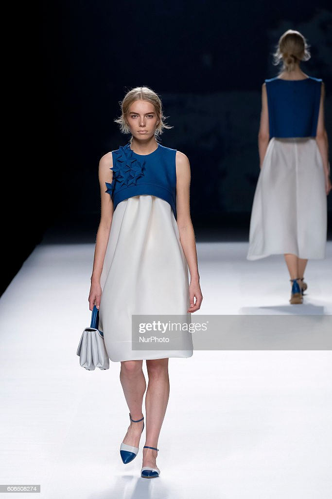 model-showcases-designs-by-devota-amp-lomba-on-the-runway-at-the-picture-id606508274