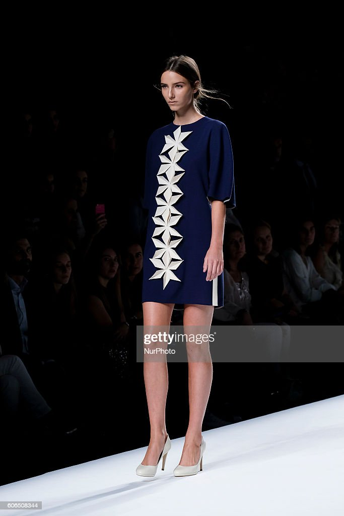 model-showcases-designs-by-devota-amp-lomba-on-the-runway-at-the-picture-id606508344