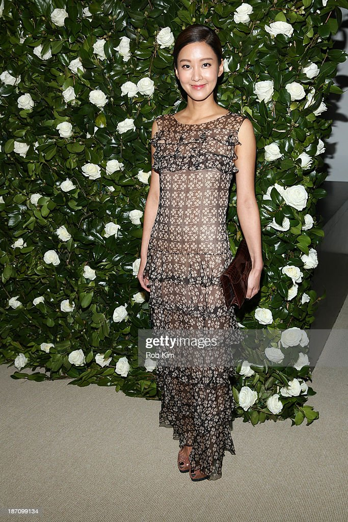 Model So Hee Hwang attend the Museum of Modern Art 2013 Film benefit: A Tribute To <a gi-track='captionPersonalityLinkClicked' href=/galleries/search?phrase=Tilda+Swinton&family=editorial&specificpeople=202991 ng-click='$event.stopPropagation()'>Tilda Swinton</a> on November 5, 2013 in New York City.
