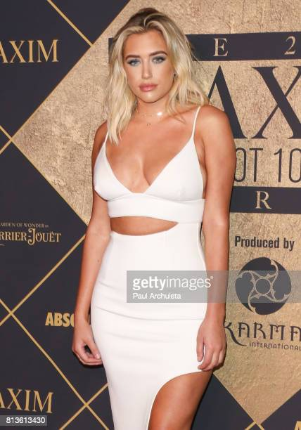 Model / Social Media Personality Anastasia Karanikolaou attends the 2017 MAXIM Hot 100 Party at The Hollywood Palladium on June 24 2017 in Los...