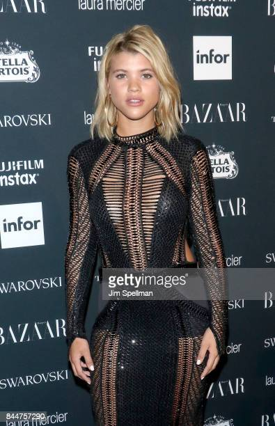 Model Sofia Richie attends the 2017 Harper's Bazaar Icons at The Plaza Hotel on September 8 2017 in New York City