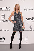Model SooJoo Park attends amfAR's 22nd Cinema Against AIDS Gala Presented By Bold Films And Harry Winston at Hotel du CapEdenRoc on May 21 2015 in...