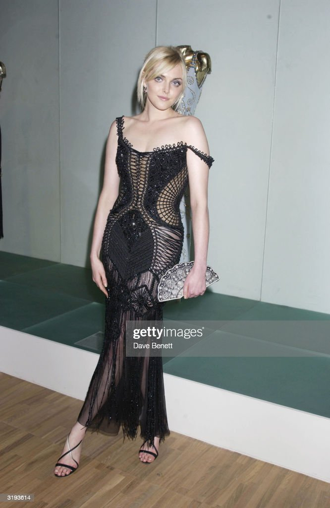 Model, Sophie Dahl attends the launch of the Versace Retrospective Exhibition held at The Victoria and Albert Museum on 14th October 2002, in London.