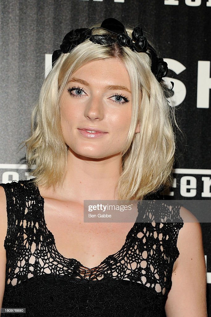 Model Sophie Sumner attends the Ferrari & The Cinema Society screening of 'Rush' at Chelsea Clearview Cinemas on September 18, 2013 in New York City.