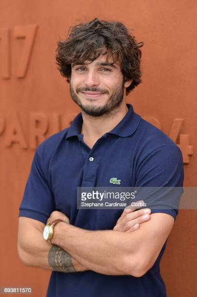 Model Stefan Tisseyre attends the French Tennis Open 2017 Day Twelve at Roland Garros on June 8 2017 in Paris France