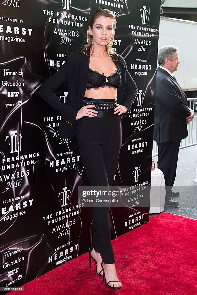Model Stella Maxwell attends 2016 Fragrance Foundation Awards at Alice Tully Hall at Lincoln Center on June 7 2016 in New York City