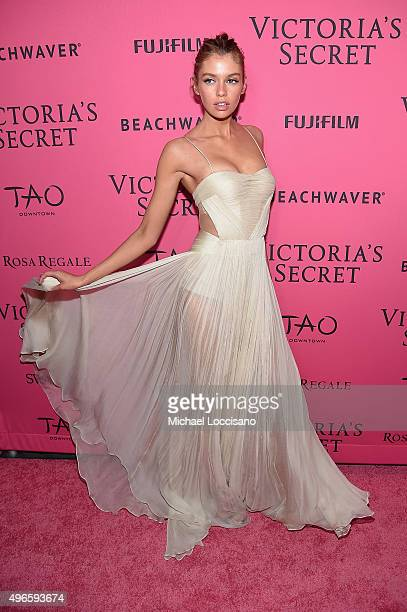 Model Stella Maxwell attends the 2015 Victoria's Secret Fashion After Party at TAO Downtown on November 10 2015 in New York City