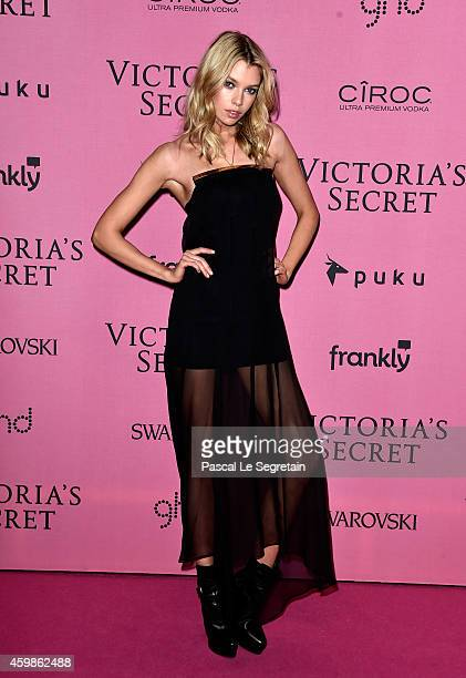 Model Stella Maxwell attends the after party for the annual Victoria's Secret fashion show at Earls Court on December 2 2014 in London England