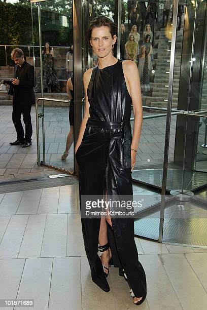 Model Stella Tennant attends the 2010 CFDA Fashion Awards at Alice Tully Hall Lincoln Center on June 7 2010 in New York City
