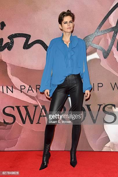 Model Stella Tennant attends The Fashion Awards 2016 on December 5 2016 in London United Kingdom