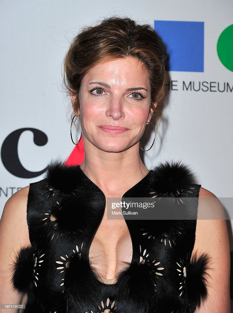 Model Stephanie Seymour arrives for 'Yesssss!' 2013 MOCA Gala, Celebrating The Opening Of The Exhibition Urs Fischer at MOCA Grand Avenue on April 20, 2013 in Los Angeles, California.