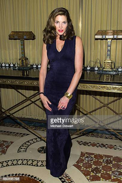 Model Stephanie Seymour attends the 11th Annual Children Of Armenia Fund Holiday Gala at Cipriani 42nd Street on December 12 2014 in New York City